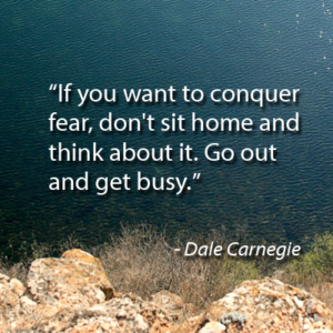 Dale Carnegie on Fear